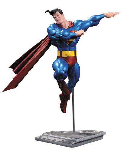 DC Collectibles NOV120311 - Reproducción a Escala Superman (NOV120311) - Figura Metallic Superman Frank Miller 1
