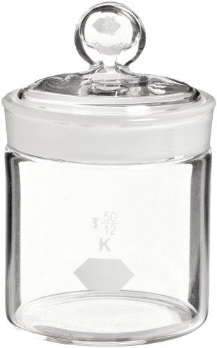 KIMBLE, zylindrisch Gewicht Flasche, high-form 50x 60mm, 85ml (Fall von 6)