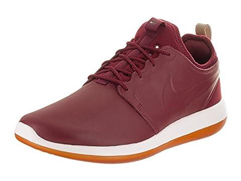 Nike Men's Roshe Two Leather Prm Team Red/Team Red/White Running Shoe 7.5 Men US