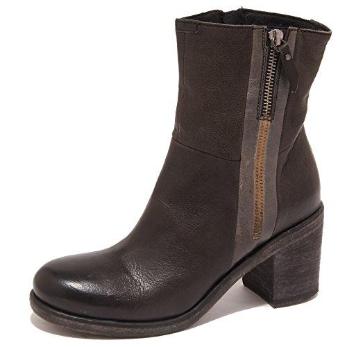 1594P stivaletto OXS grigio scuro tronchetto donna boot woman [36]