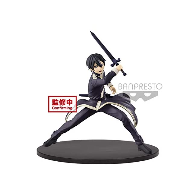 Banpresto. Sword Art ONLINE - Kirito Alicization EXQ Figuren