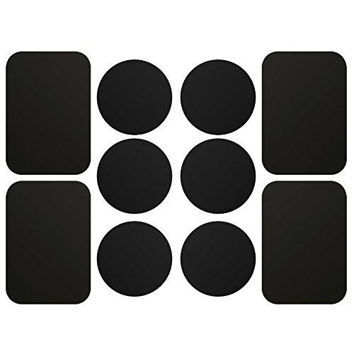 AJOXEL [10 Piezas Láminas Metálicas 6 Redondas 4