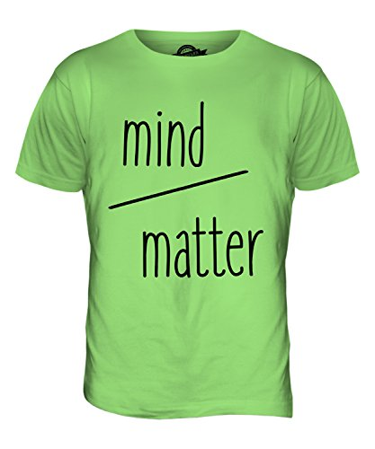 CandyMix Mind Over Matter T-Shirt da Uomo Maglietta Verde Lime