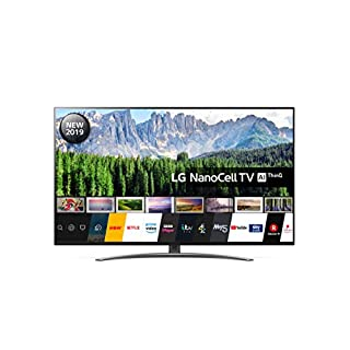 LG 55SM8600PLA 55 Inch UHD 4K HDR Smart NanoCell LED TV with Freeview Play - Dark Steel Silver (2019 Model) (B07RRVW4DP) | Amazon price tracker / tracking, Amazon price history charts, Amazon price watches, Amazon price drop alerts