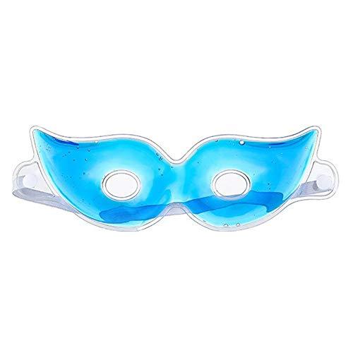 Maliyaw 2pcs Gel-Augenmaske Kalte Pads Cooling Eye Ice Masks Gel für geschwollene trockene Augen Augenringe Allergie-Entlastung