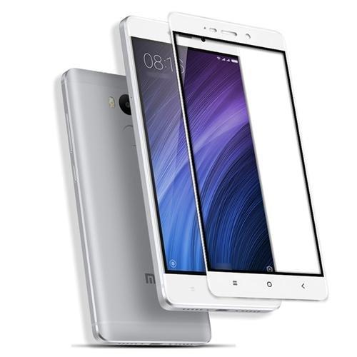 Xiaomi REDMI NOTE 4 Tempered Glass screen protector in white colour