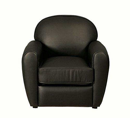 Sessel Bycast Leder schwarz Sir Sofa Outlet Wallisellen