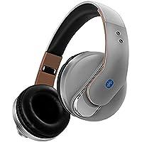 XPFFXX Auriculares Inalámbricos Bluetooth Auriculares Auriculares Deporte Inalámbrico Estéreo Auriculares Plegables con Micrófono ...