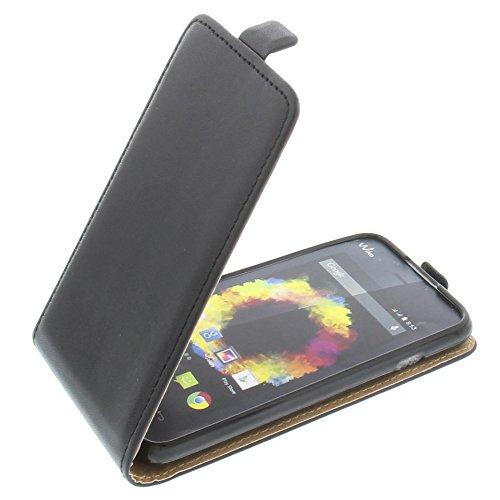 Tasche für Wiko Sunset 2 Smartphone Flipstyle Schutz Hülle schwarz