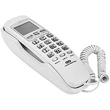 607b6e93f54524 VBSTLIFE Téléphone Fixe Filaire avec Haut-Parleur, Téléphone Mural avec  Affichage ID de l