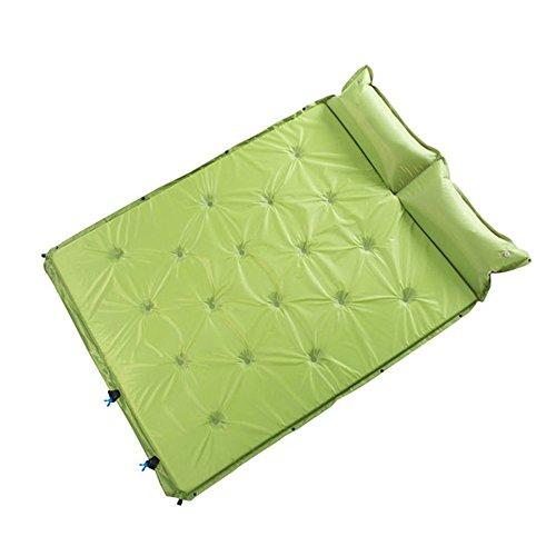 XY&CF Lit gonflable en plein air lit gonflable automatique camping double lit gonflable peut être épissé lit gonflable camping étanche gonflable coussin 192 * 132 * 3 cm (Couleur : C)