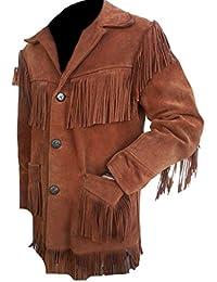 Classyak – Camicia Elegante Giacca in Pelle Scamosciata ... 774a3725d94