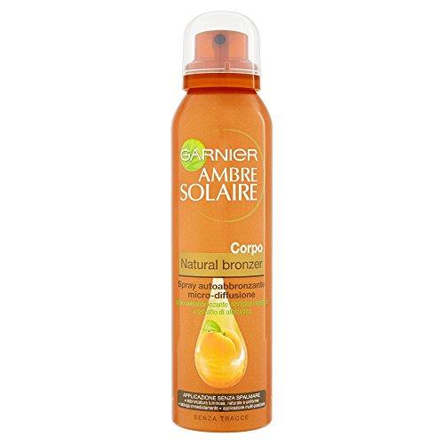Garnier ambre solaire natural bronzer spray autoabbronzante micro-diffusione