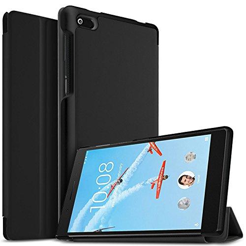 custodia x tablet IVSO Lenovo Tab 7 TB-7504X Cover Custodia - Slim Smart Cover Custodia Protettiva in Pelle PU per Lenovo TB-7504X Tablet