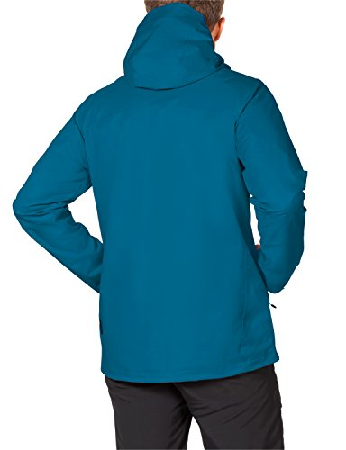 Jack Wolfskin Herren Wetterschutzjacke Ridge Jkt M Dark Turquoise