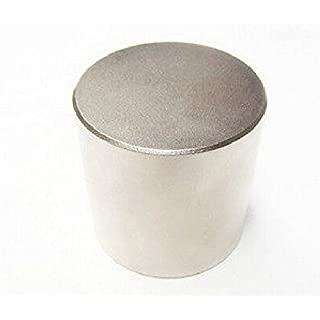 AOMAG® N52 Diameter 50mm x 50mm Round Neodymium Permanent Cylinder Magnets D50 x 50 mm