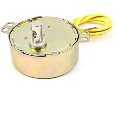 CA 220-240V 4W 5/6 RPM CW/CCW Giratorio Motor Sincrónico para Ventilador Eléctrico