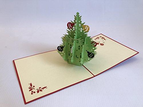 Weihnachtsbaum Schneemann Rentier Santa Clause MAS 3D Pop up Grußkarten Jahrestag Baby Geburtstag Ostern Halloween Mutter Vater New Home NEW YEAR Thanksgiving Valentine Hochzeit Weihnachten