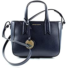 Emporio Armani Twin Handle Femme Handbag Noir 4bf041e0624