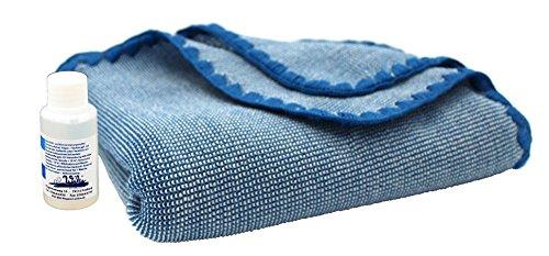 Disana Melange-Babydecke 80 x 100 cm aus Merino-Schurwolle kbT, blau/natur melange inkl. Feinwaschmittel Wiki