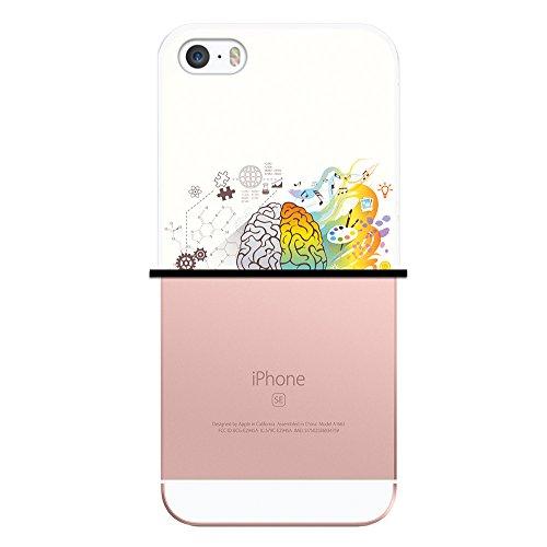 iPhone SE iPhone 5 5S Hülle, WoowCase Handyhülle Silikon für [ iPhone SE iPhone 5 5S ] Indischer Stil mit Elefanten-Muster Handytasche Handy Cover Case Schutzhülle Flexible TPU - Schwarz Housse Gel iPhone SE iPhone 5 5S Transparent D0335
