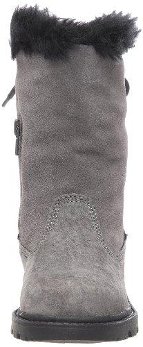 Caterpillar Bruiser Scrunch Zip, Boots mixte enfant Gris (Dk Gull Gr)