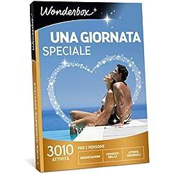 Wonderbox Cofanetto Regalo per San Valentino - Una Giornata Speciale - 3010 attività per 2 Persone