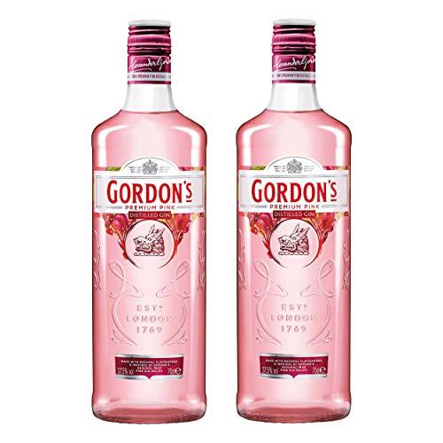 Gordon´s Premium Pink Distilled Gin, 2er, Alkohol, Alkohlgetränk, Getränk, Flasche, 37,5{ea02d4fd4a1bbbb23a023d2b317ea9ce9bbb9deae0580c6e6e21190ac43a3067}, 700 ml, 737864
