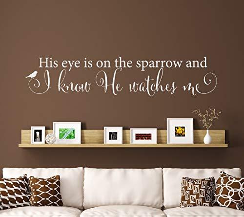 WALSITK Dekorative Aufkleber Auge Wandaufkleber Wohnzimmer Schlafzimmer Hintergrund entfernen benutzerdefinierte schwarz Ultra klein 21x106cm (Benutzerdefinierte Schwarze Auge Aufkleber)