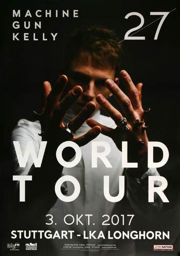 Premium Poster/Plakat | DIN A1 | Live Konzert Veranstaltung » Machine Gun Kelly - Twenty Seven, Stuttgart 2017 « -