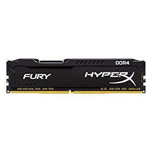 HyperX FURY DDR4 8 GB, 3466 MHz CL19 DIMM XMP - HX434C19FB2/8, Black