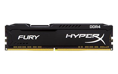 HyperX HX432C18FB/16 FURY DDR4 Memoria 16 GB, 3200 MHz CL18 DIMM XMP, Nero