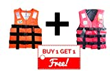 #8: Generic Polyester Adult Safety Life Jacket (Orange)