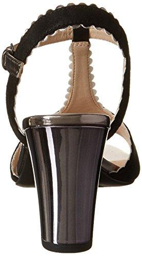 Caprice 28305, Salomés Femme Noir (Black Sue Comb)