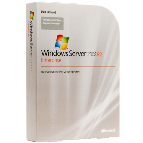 Lizenz / Microsoft Windows Server 2008 R2 Enterprise Edition / Software / Reseller Option Kit (ROK) / 1-8 CPU / Sprache: es / Server-Lizenzierung: 1x physikalisch + 4x virtuell / Hyper-V / 10 CALs / x64 OEM DVD - für HP ProLiant Systeme Windows 2008 Server Lizenz