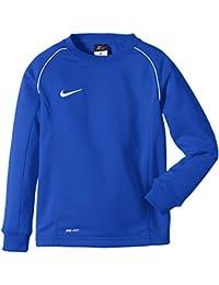 Nike Boys Found 12 Midlayer Sudadera de Fútbol de Manga Larga, niños, Azul Royal/Blanco, L