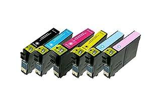 Akia–Expression Photo xp-960–Colori Pack di 6compatibili Epson c13t24384011/24x l–Cartuccia d' inchiostro Multi Pack