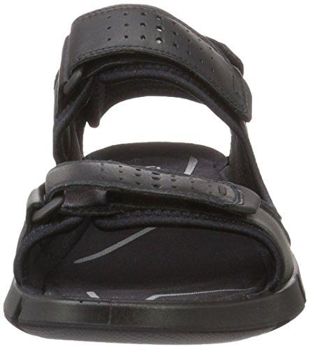 Ecco Ecco Intrinsic Sandal, Sandales  Bout ouvert homme Noir (51052Black/Black)