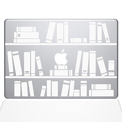 Bücherregal Bibliothek Aufkleber Vinyl Aufkleber, 33cm MacBook Air weiß weiß 13