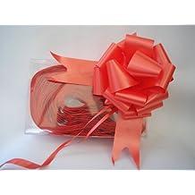 x mm cm rpido cinta de raso lazos rojo para regalo