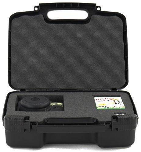 Life Made Better Disco Storage Che Trasportano Fotocamera Custodia Per Fujifilm Instax Wide E 9 Mini Macchina Fotografica Istantanea - Nero
