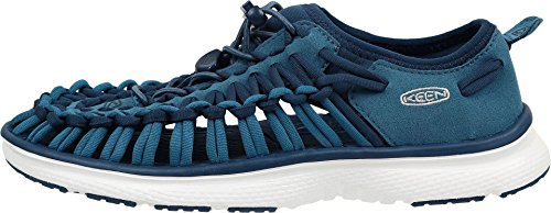 Keen Uneek O2 W, Sneakers Basses Femme Ink Blue/white