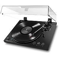 ION Audio Pro100BT Giradischi Bluetooth Automatico con Trazione a Cinghia, Preamplificatore, Uscita USB per Conversione Vinili, Uscite RCA