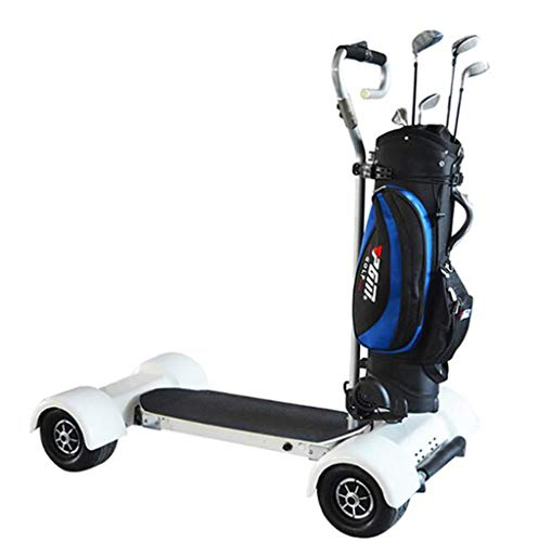 Maple leaf La Voiture de Balance de Chariot de Golf de Scooter-Quatre Roues est Facile à Porter Le Scooter de Sports, Peut Porter Le Scooter de Sports de Club de Golf