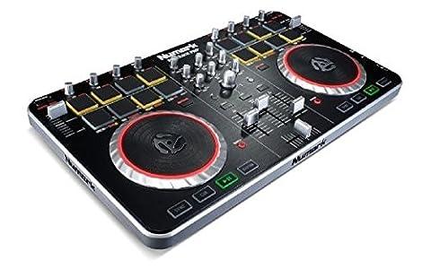 Numark Mixtrack Pro II Contrôleur DJ 2 Canaux avec Interface Audio, Pads, EQ et Logiciel Serato DJ
