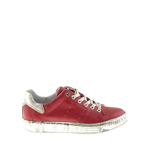 Shoes Di B153 Multicolore Innamorare Pelle In Vera Briscola Felmini Woman Sneakers 7Ytwq