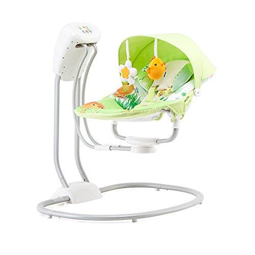 Chipolino CHIPLSHMA0142CH Elektrische Babyschaukel und -wippe - Malibu, küken