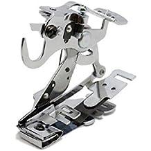Alfa Prensatelas para fruncir y plegar, accesorio para máquina de coser, acero inoxidable