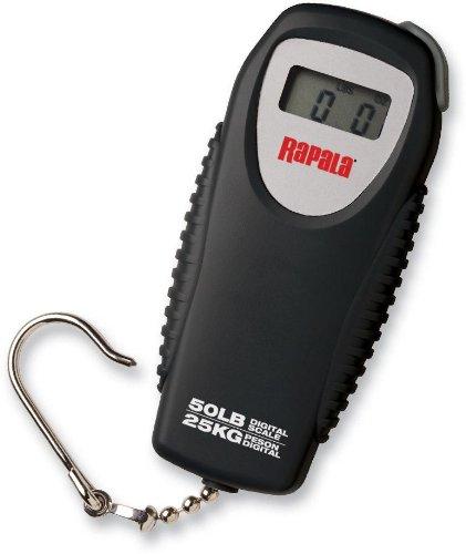 Conveniente tamaño mini encaja en tacklebox, guantera o el bolsillo de la chaqueta Rapala Rapala Mini Digital Scale 50lb.