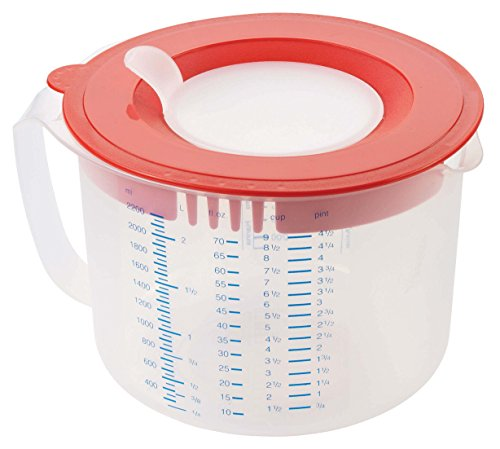 Leifheit 3169 3in1 Messbecher Measure & Store 2,2 L